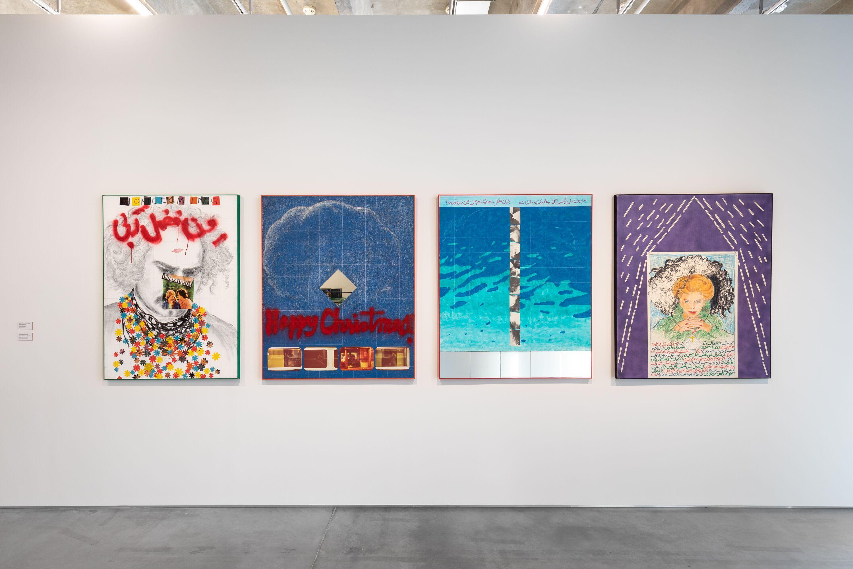 <p><i>Rasheed Araeen. A Retrospective</i>, installation view, Garage Museum of Contemporary Art, Moscow, 2019 (courtesy of Alexey Narodizkiy)</p>